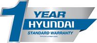 1 Year Platinum Warranty