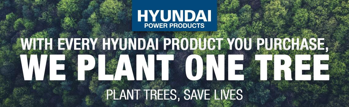 Hyundai Power Products Tree Planting Scheme