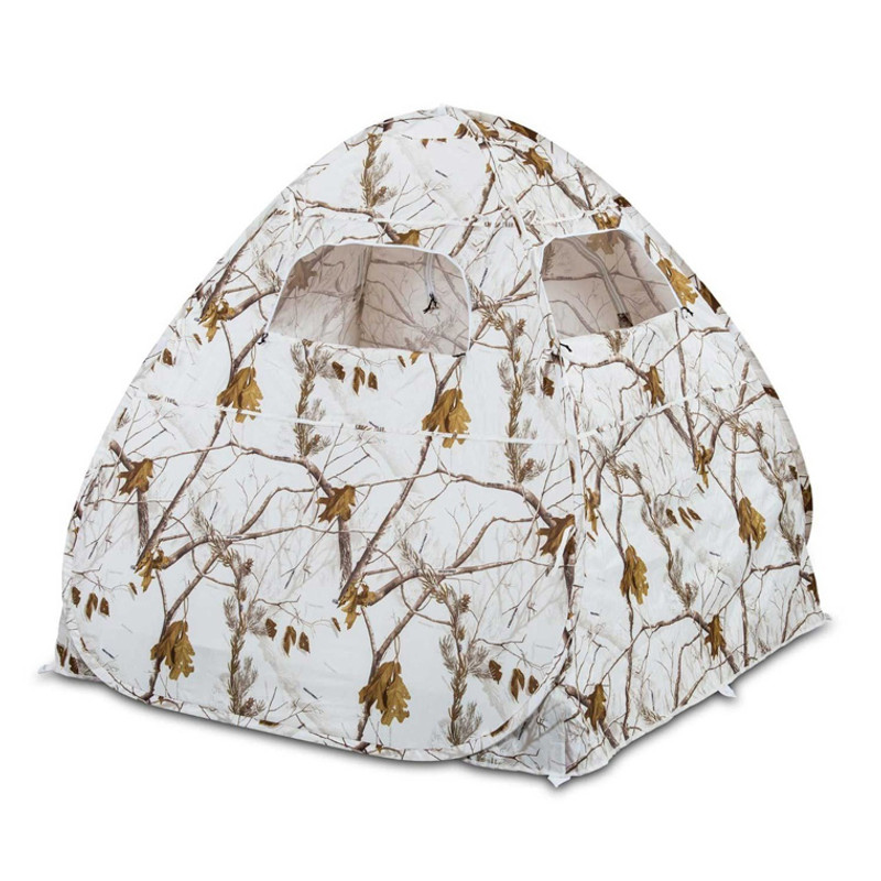 Ameristep Gunner Predator Ground Blind, RTAP Snow