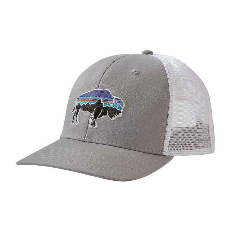 3a042ff4 Patagonia Fitz Roy Bison Layback Trucker Hat