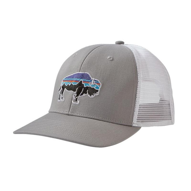9227c74672b Patagonia Fitz Roy Bison Layback Trucker Hat