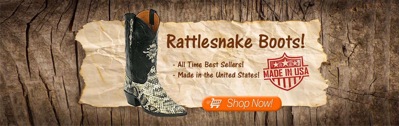 Rattlesnake Boots