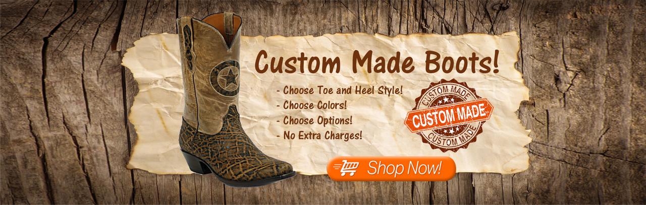 Custom Cowboy Boots