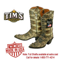 Natural Alligator Cowboy Boots - Finally Available!