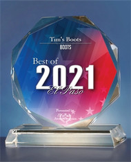 Tim's Boots Receives 2021 Best of El Paso Award