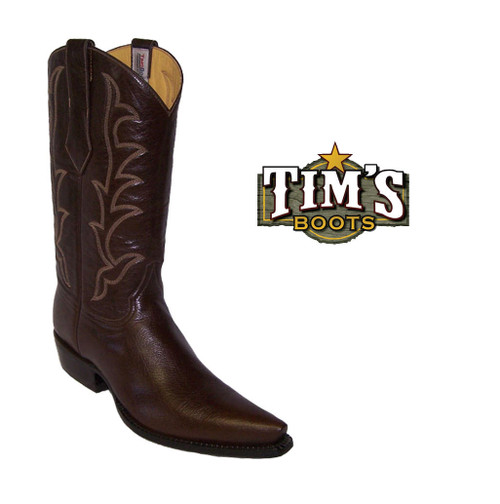 Tims Boots Tims Boots Buffalo Calf Cowboy Boots