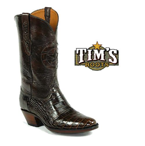 Black Jack Boots Black Jack Alligator Belly Cowboy Boot