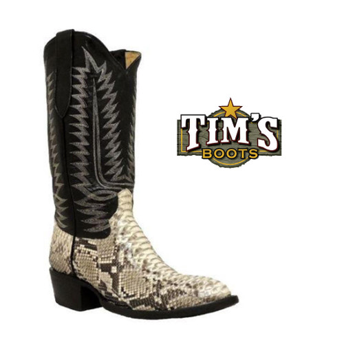 Cowtown Boots Cowtown Python Boots - W Toe