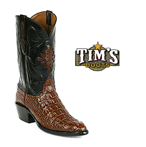 Black Jack Boots Black Jack Alligator Body Cut Cowboy Boots