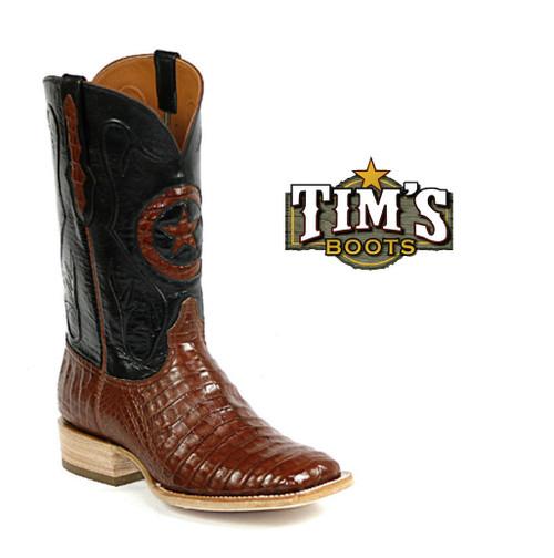 Black Jack Boots Caiman Cowboy Boots by Black Jack