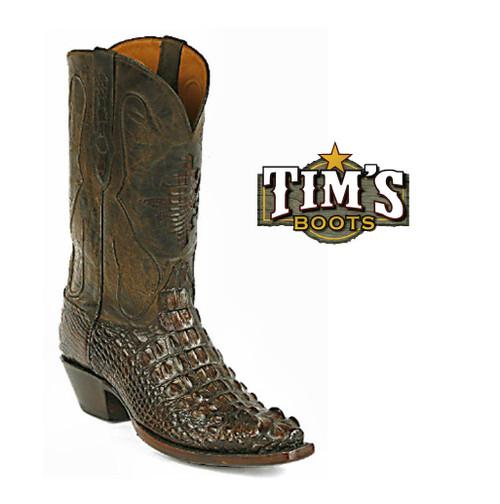 Black Jack Boots Black Jack Alligator Head Cut Cowboy Boots