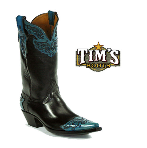 Black Jack Boots Hand Tooled Boots Style 183