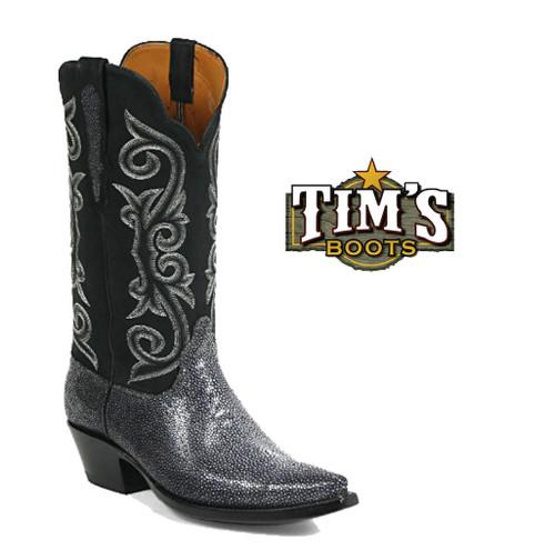 Black Jack Boots Sanded Stingray Boots