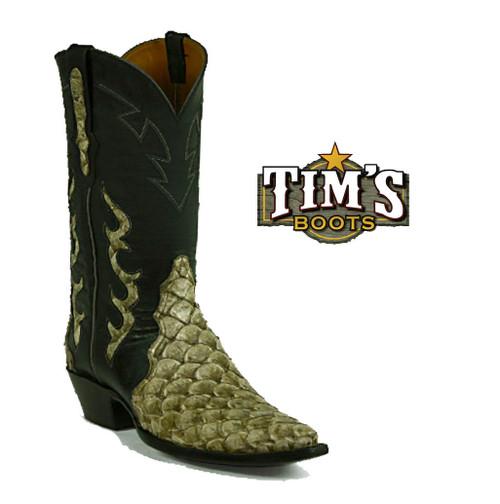 Black Jack Boots Pirarucu Triad Boots by Black Jack