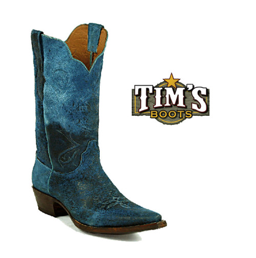 Black Jack Boots Lambskin Boots by Black Jack turquoise
