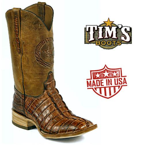 Black Jack Boots Alligator Tail Cowboy Boots
