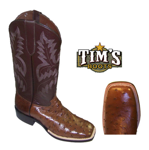 Cowtown Boots Cowtown Full Quill Ostrich Boots - Rancher