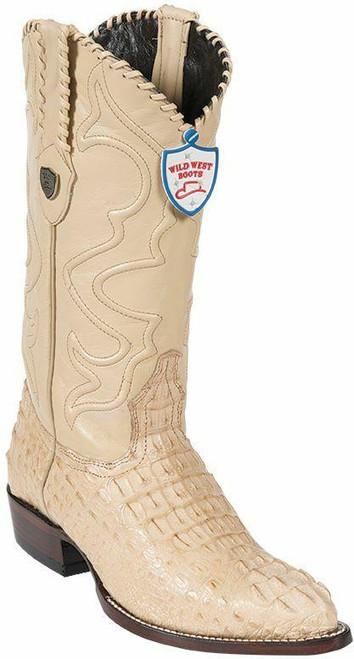 Wild West Boots Wild West Hornback Caiman Boots -J Toe