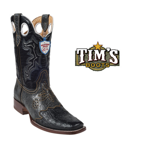 Wild West Boots Wild West Ostrich Boots -Rodeo Toe