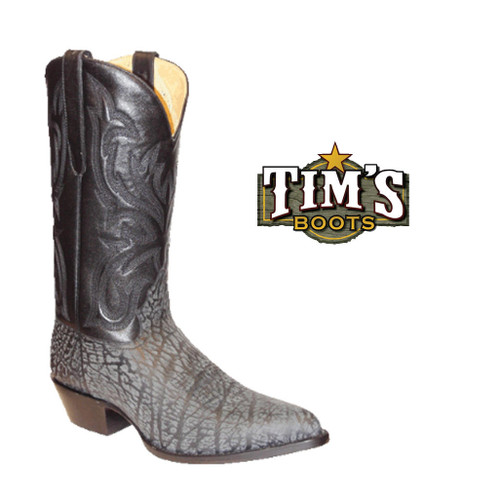 Star Boots Star Boots Black Sueded Buffalo Boots