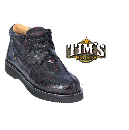 Los Altos Boots Ostrich Leg Casual Shoes by Los Altos