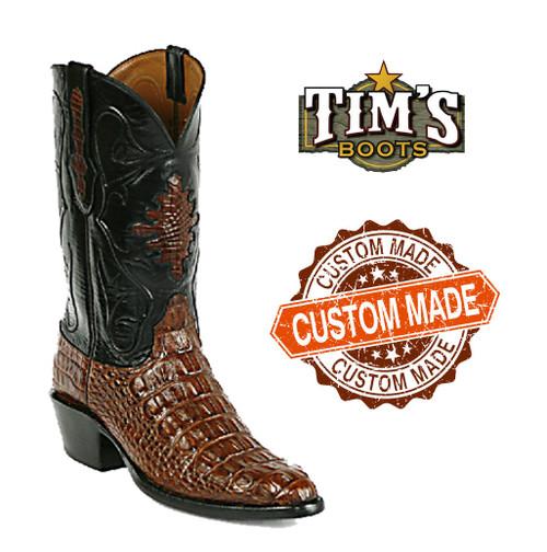 Black Jack Custom Custom Alligator Cowboy Boots body cut
