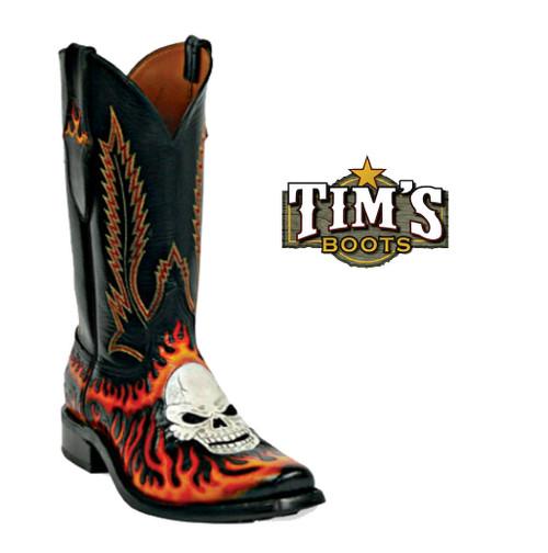 Black Jack Boots Black Jack Hand Tooled Boots - HT-40