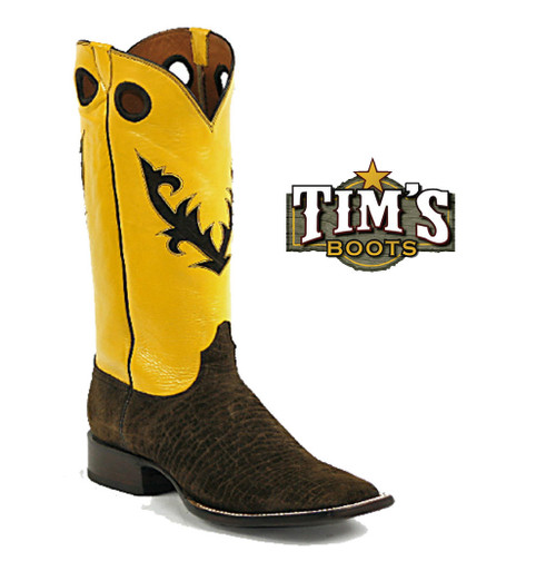 Black Jack Boots Hippo Cowboy Boots - Made in America - 14 Tops