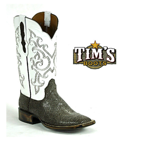 Black Jack Boots American Made Sanded Stingray Boots