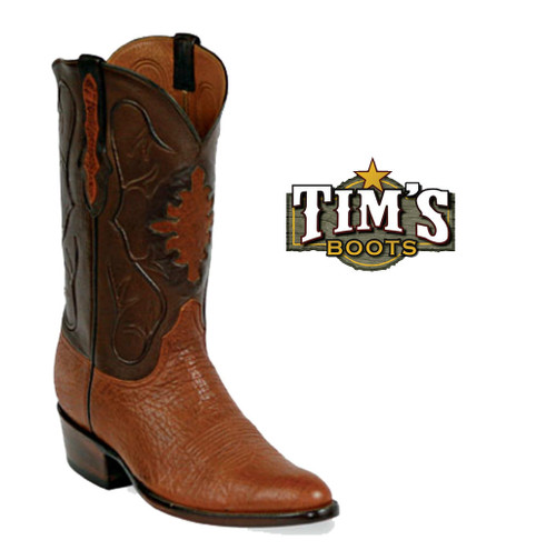 Black Jack Boots Shark Skin Cowboy Boots - Made in America
