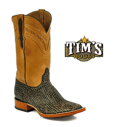 Black Jack Boots Sanded Shark Boots - Made in America from Tims Boots