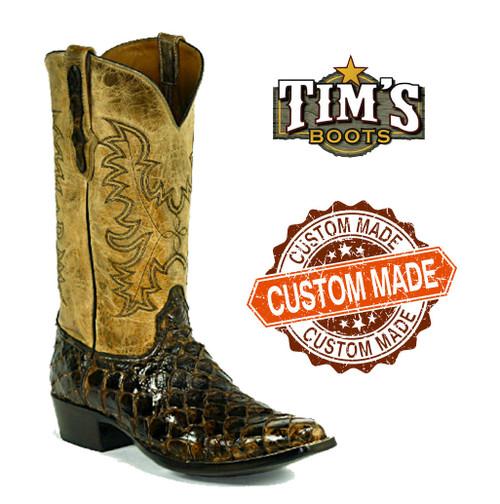Black Jack Custom Custom Pirarucu Cowboy Boots