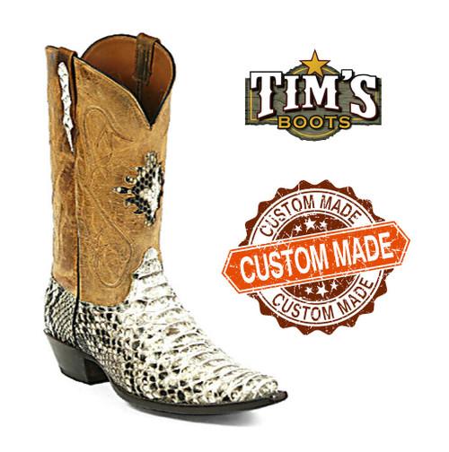 Black Jack Custom Custom Python Cowboy Boots by Black Jack