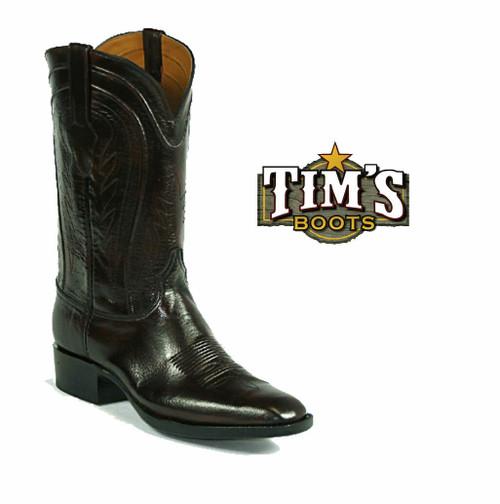 Black Jack European Goat Cowboy Boots
