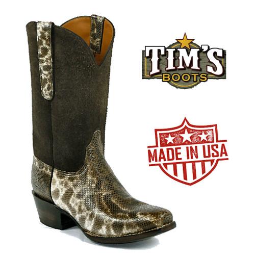 Black Jack Karung Snake Cowboy Boots