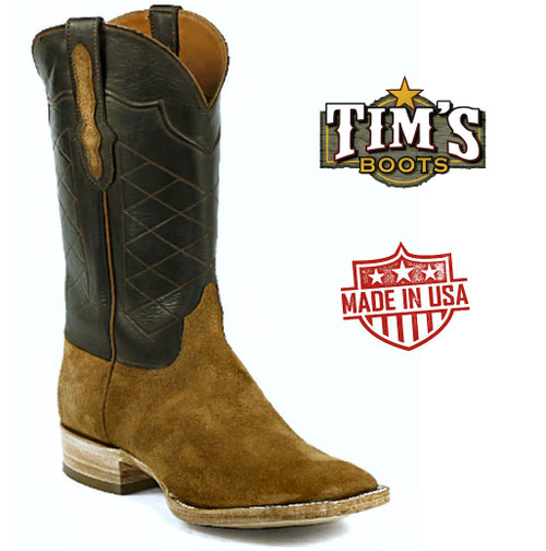 Black Jack Reverse Ranch Hand Cowboy Boots