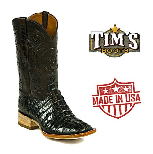 Black Jack Alligator Tail Boots