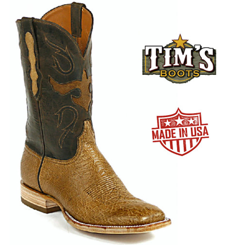 Black Jack Smooth Ostrich Boots