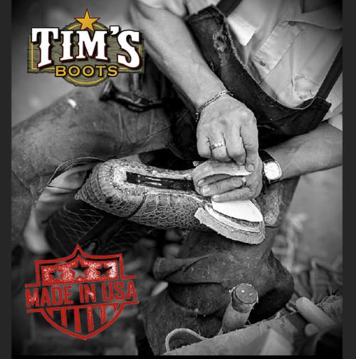 Black Jack Custom Custom Zipper boots and belt