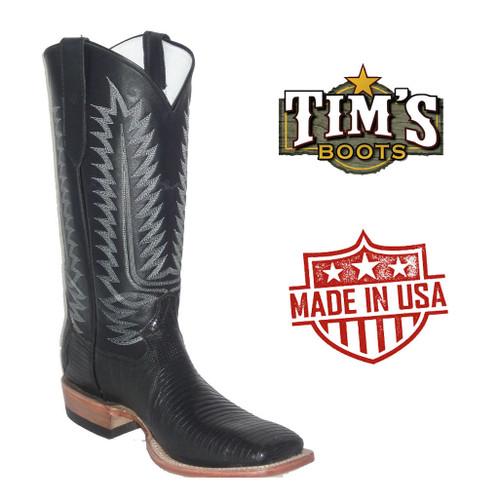 Cowtown Teju Lizard Cowboy Boots