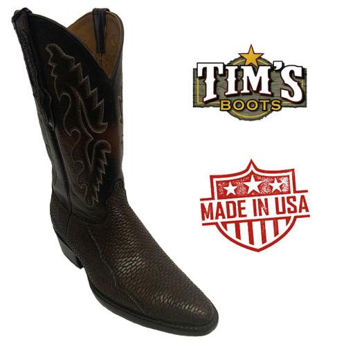 Black Jack Beaver Tail Cowboy Boots