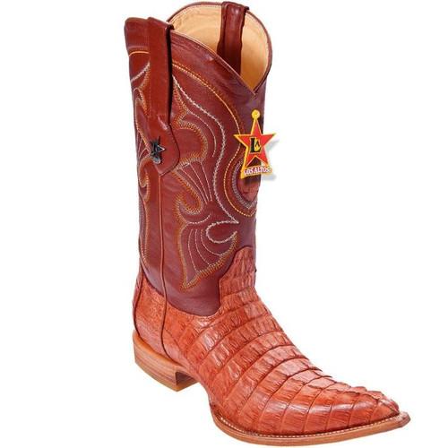 Los Altos Boots Los Altos Caiman Tail 3X toe cowboy Boots