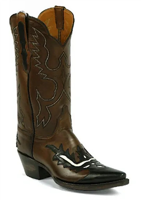 Black Jack Ranch Hand with wing tip and heel foxing #8