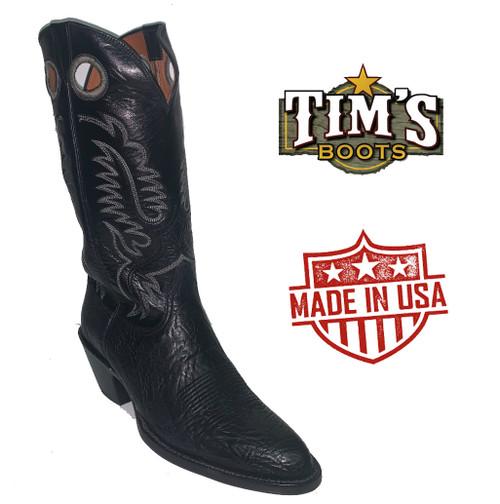 Black Jack Black Shoulder Boots size 9 1/2E