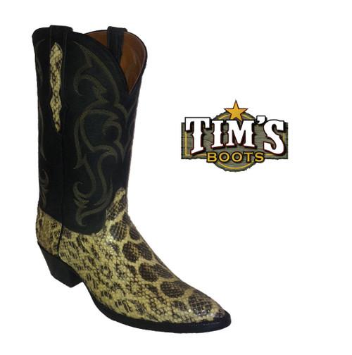 Black Jack Boots Anaconda Cowboy Boots