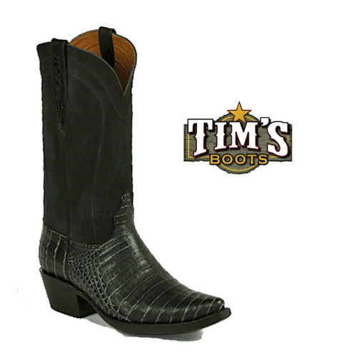 Black Jack Boots Black Jack Caiman Belly Cowboy Boots