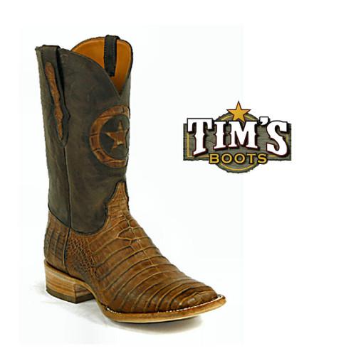 Black Jack Boots Caiman Belly Cowboy Boots by Black Jack