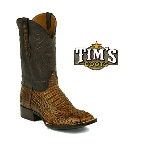 Black Jack Boots Black Jack Caiman Hornback Cowboy Boots