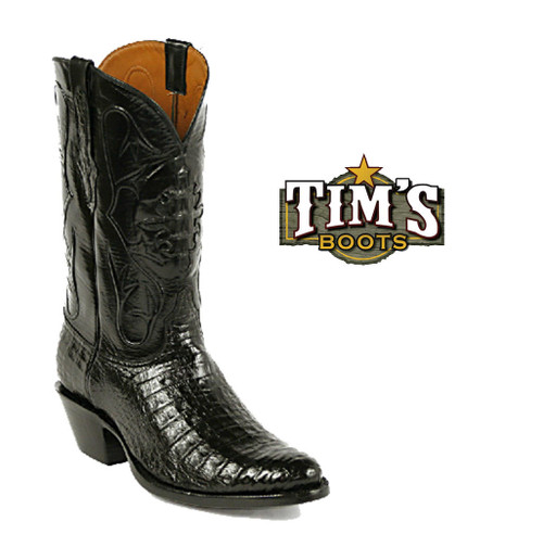 Black Jack Boots Black Jack Caiman Crocodile Belly Cowboy Boots