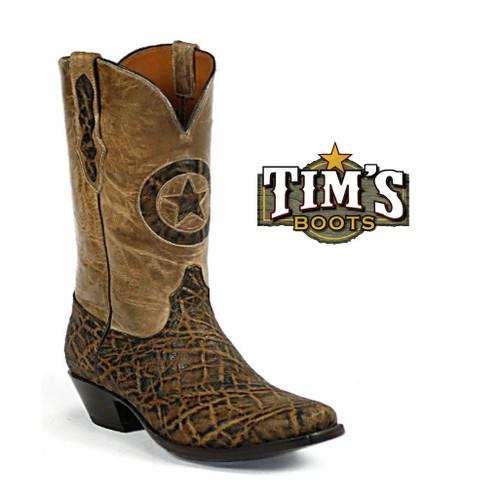Black Jack Boots Elephant Cowboy Boots - Black Jack
